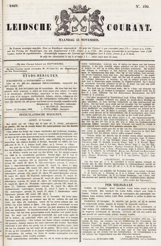 Leydse Courant 1869-11-15