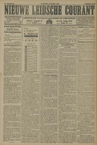 Nieuwe Leidsche Courant 1927-03-26