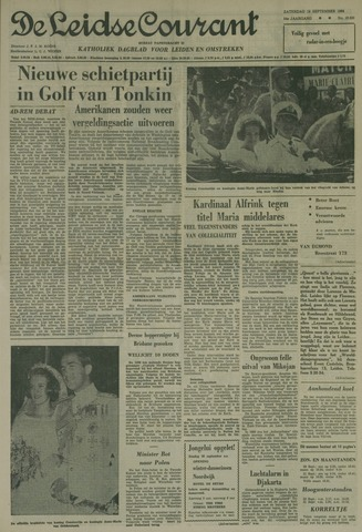 Leidse Courant 1964-09-19