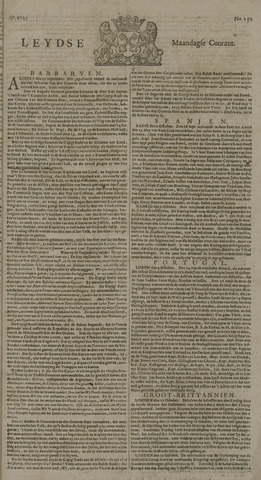Leydse Courant 1725-10-29