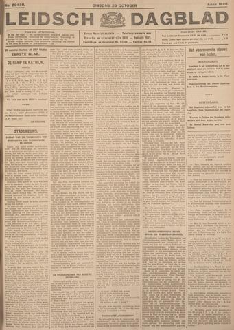 Leidsch Dagblad 1926-10-26