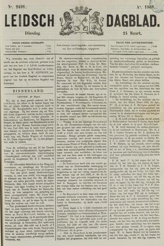 Leidsch Dagblad 1868-03-24