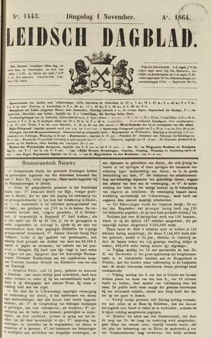 Leidsch Dagblad 1864-11-01