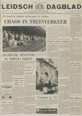Leidsch Dagblad 1970-08-03