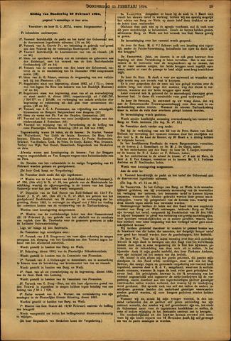 Handelingen van de Raad 1894-02-22