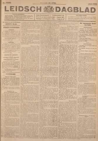 Leidsch Dagblad 1926-04-30