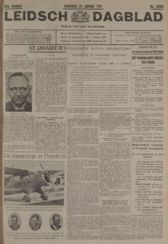 Leidsch Dagblad 1937-01-20