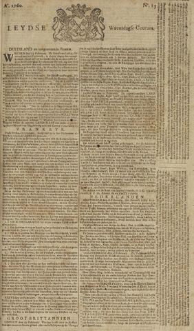 Leydse Courant 1760-02-27