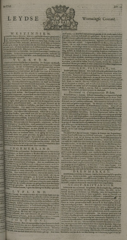 Leydse Courant 1725-01-24