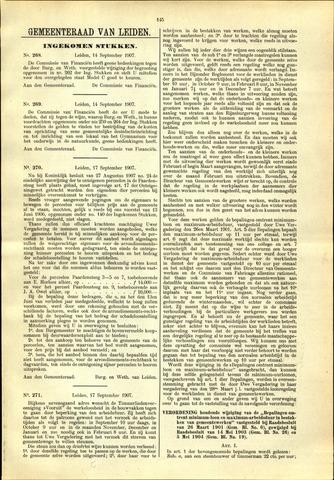 Handelingen van de Raad 1907-09-14