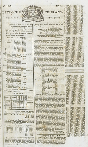 Leydse Courant 1828-07-09