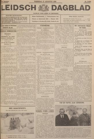 Leidsch Dagblad 1930-08-27