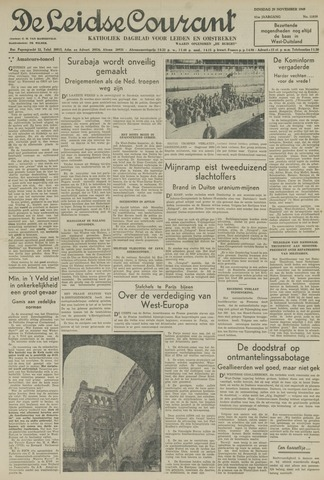 Leidse Courant 1949-11-29