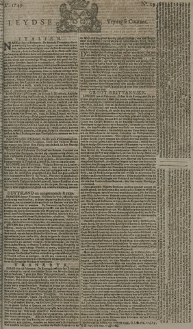 Leydse Courant 1749-03-07