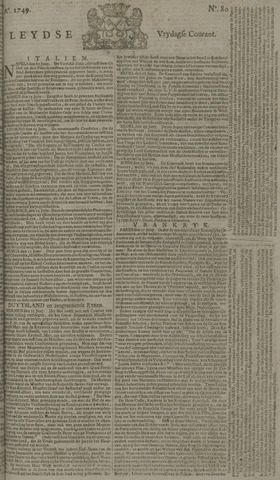 Leydse Courant 1749-07-04