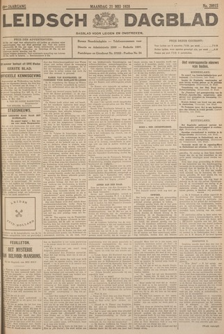 Leidsch Dagblad 1928-05-21