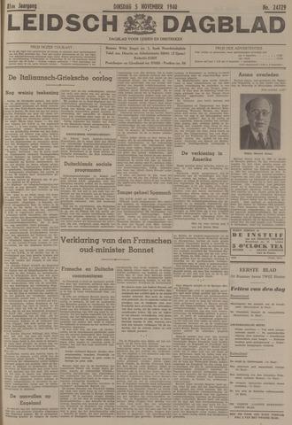 Leidsch Dagblad 1940-11-05