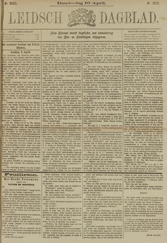Leidsch Dagblad 1890-04-10