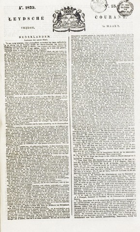 Leydse Courant 1839-03-22