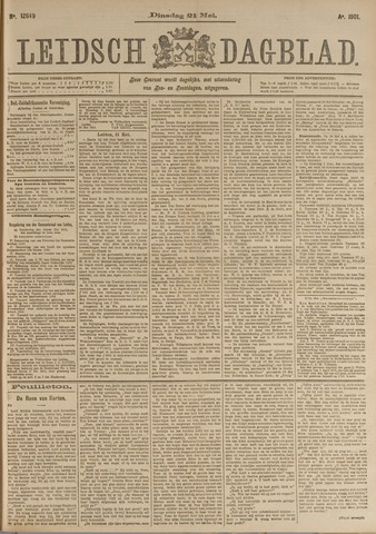 Leidsch Dagblad 1901-05-21