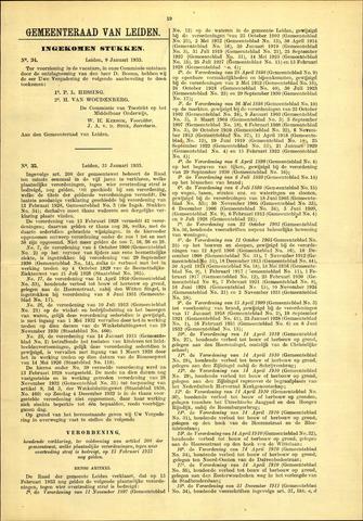 Handelingen van de Raad 1933-01-06