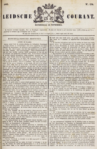 Leydse Courant 1882-11-23