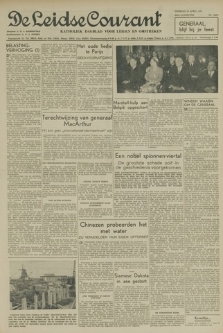 Leidse Courant 1951-04-10