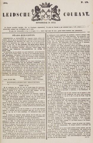 Leydse Courant 1884-07-31