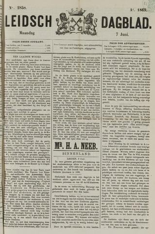 Leidsch Dagblad 1869-06-07