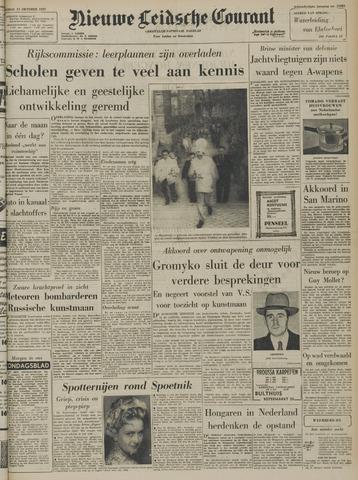 Nieuwe Leidsche Courant 1957-10-11