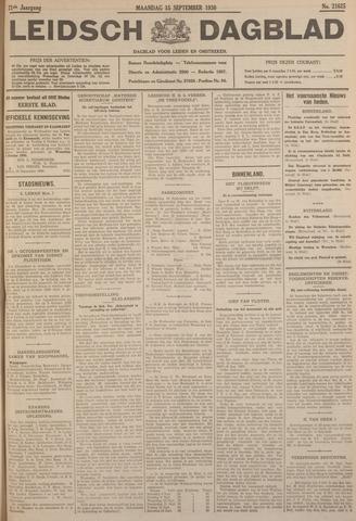 Leidsch Dagblad 1930-09-15