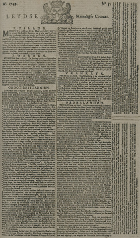 Leydse Courant 1749-04-28