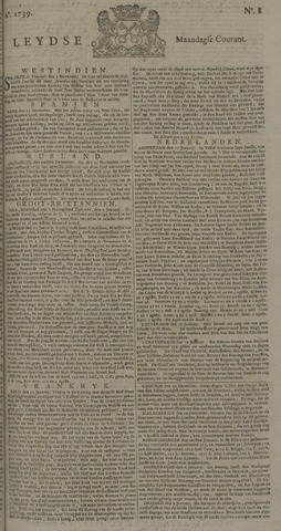 Leydse Courant 1739-01-19