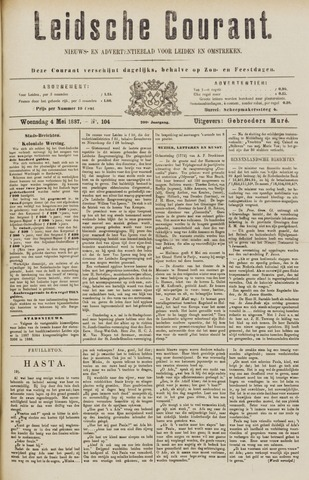 Leydse Courant 1887-05-04
