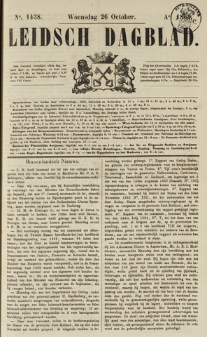 Leidsch Dagblad 1864-10-26