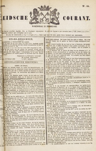 Leydse Courant 1883-02-21