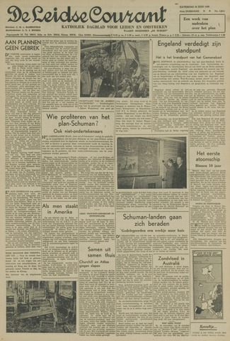 Leidse Courant 1950-06-24