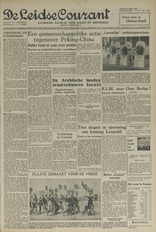 Leidse Courant 1954-04-09