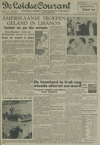 Leidse Courant 1958-07-16