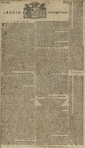 Leydse Courant 1760-02-20
