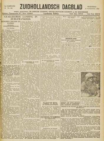Zuidhollandsch Dagblad 1944-08-16
