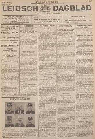 Leidsch Dagblad 1930-10-16