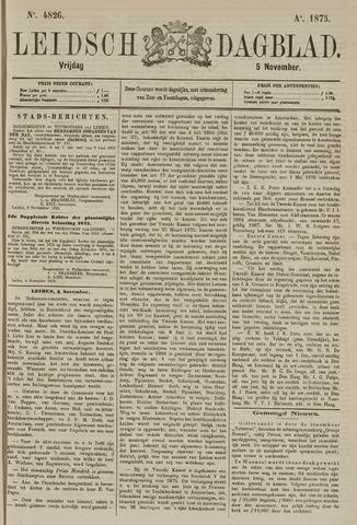Leidsch Dagblad 1875-11-05
