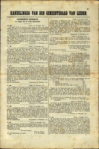 Handelingen van de Raad 1871-11-21