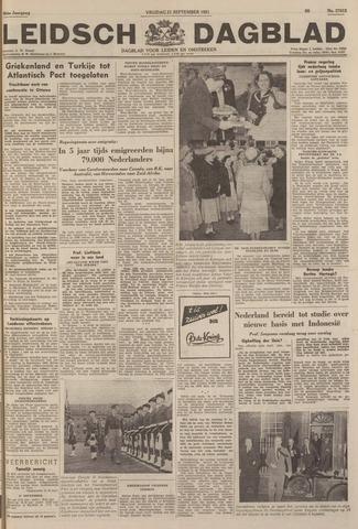Leidsch Dagblad 1951-09-21