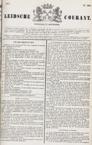 Leydse Courant 1871-09-27
