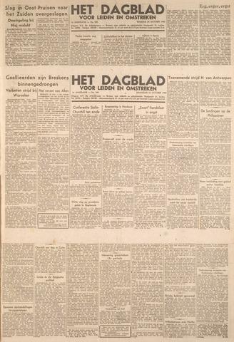 Dagblad voor Leiden en Omstreken 1944-10-23