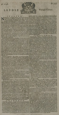 Leydse Courant 1736-10-19
