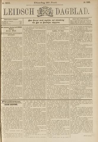 Leidsch Dagblad 1893-06-20