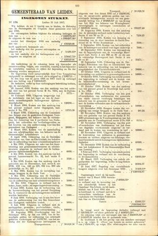 Handelingen van de Raad 1917-07-31